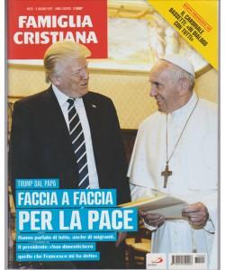 """Famiglia Cristiana - settimanale n. 23 - giugno 2017 """"Trump dal Papa"""""""