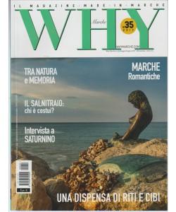 """Why Marche - bimestrale n. 35 Maggio 2017 """"il Salnitraio: chi è costui?"""""""