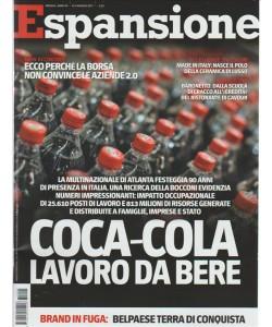 """Espansione - mensile n. 5 Maggio 2017 """"Coca-Cola Lavoro da bere"""""""