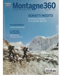 Montagne 360 (la rivista del Club Alpino Italiano) - mensile n. 57 Giugno 2017