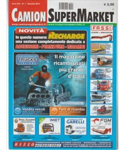 "Camion Super Market - mensile n. 1 Gennaio 2017 ""Recharge"""