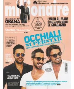 """Millionaire - mensile n. 6 Giugno 2017 """"Occhiali superstars"""""""