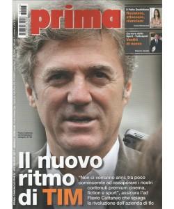 """Prima Comunicazione - mensile n.483 Maggio 2017 """"Flavio Cattaneo"""""""