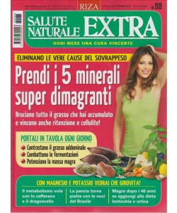 SALUTE NATURALE EXTRA. N. 88. MENSILE SETTEMBRE 2016.