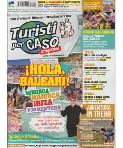 """Turisti per Caso - mensile n. 7 (111) Giugno 2017 """"hola, Baleari!"""""""