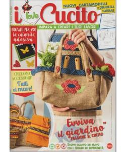 """I Love Cucito - bimestrale n.17-giugno 2017""""c/cartamodelli a grandezza naturale"""""""