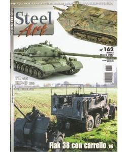 """Steel Art - mensile n. 162 Giugno 2017 """"Flak 38 con carello"""""""