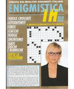 "Enigmistica In - mensile n. 361 Luglio 2017 ""Maria De Filippi"""