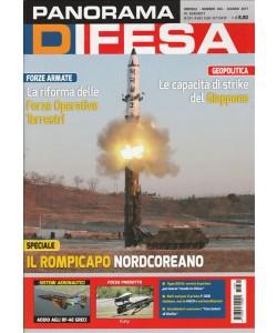 """Panorama Difesa - mensile n. 364 Giugno 2017 """"Il rompicapo Nordcoreano"""""""