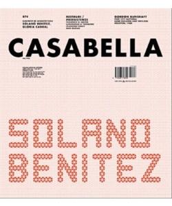 Casabella - mensile n. 874 Giugno 2017 - Solano Benìtez