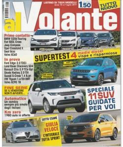 """Al Volante - mensile n. 7 - Luglio 2017 """"11 SUV guidate per voi"""""""