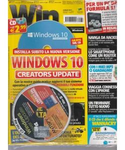 "Win Magazine vers.Base-mensile n.7(233) luglio 2017""Windows 10 Creators upgrade"""