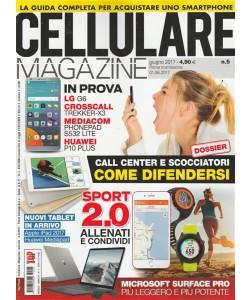 """Cellulare Magazine - mensile n. 5 Giugno 2017 """"Microsoft Surface pro"""""""