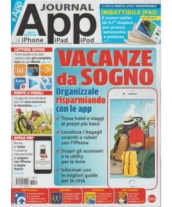 """App Journal-Bimestrale n.71 Luglio 2017""""Vacanze da Sogno:organizzale con le APP"""""""