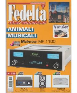 """Fedeltà del Suono - mensile n. 258 Giugo 2017 """"Animali musicali McIntosh MP1100"""""""