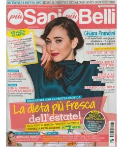 """Più Sani Più Belli-mensile n. 7(79) Luglio 2017""""la dieta più fresca dell'estate"""""""
