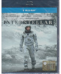 INTERSTELLAR. UN FILM DI CHRISTOPHER NOLAN. 2 BLU-RAY. I DVD CINEMA DI PANORAMA 2 N. 14