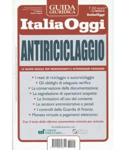 Antiriciclaggio - Guida giuridica n. 9 Italia Oggi - giugno 2017
