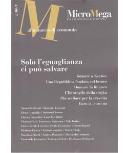 Micromega - almanacco di economia n. 4/2017 - per una sinistra illuminata