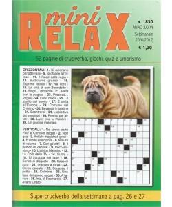 Mini Relax - settimanale n. 1830 - 20 giugno 2017