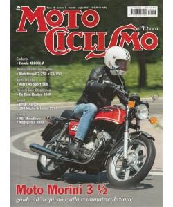 """Motociclismo d'Epoca - mensile n. 7 Luglio 2017 """"Moto Morini 3 1/2"""""""