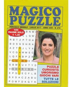 Magico Puzzle - mensile pocket n. 278 - luglio 2017