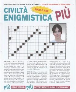 Civiltà Enigmistica Più - quattordicinale n. 91 - 21 giugno 2017