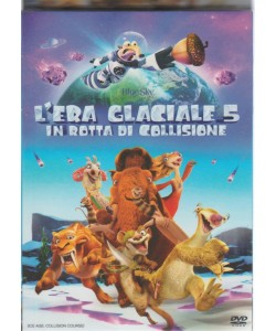 """DVD - L'era Glaciale 5 """"in rotta di collisione"""" - Regista: Mike Thurmeier, Galent T. Chu"""