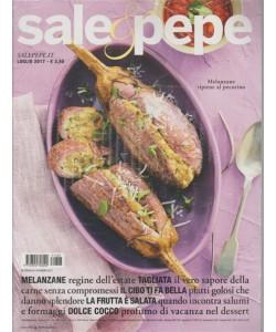 Sale & Pepe - mensile n. 7 Luglio 2017 + libro SUGHI CRUDI per la pasta