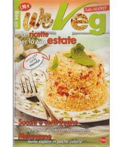 We Veg - mensile pocket n.30 Luglio 2017 Melanzane tanto sapore in poche calorie