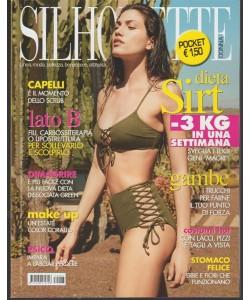 Silhouette Donna pocket-mensile n.7 Luglio2017 -Capelli è il momento dello Scrub