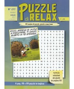 I Puzzle di Relax - mensile n. 277 Luglio 2017
