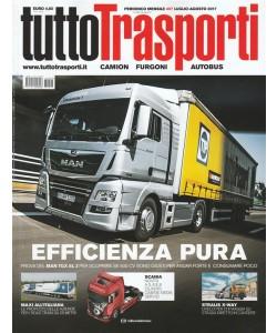"""Tuttotrasporti - mensile n. 407 Luglio/agosto 2017 """"Camion, furgoni e autobus"""""""