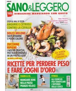 Sano & Leggero - mensile n. 7 Luglio 2017 Angurie e cetrioli contro la cefalea
