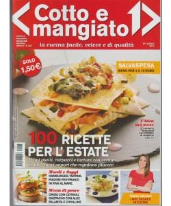 Cotto e Mangiato - mensile n. 7 Luglio 2017 - Salvaspesa (menù per 4 a 12 euro)