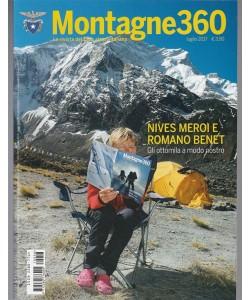 Montagne 360 - mensile n. 58 Luglio 2017 Nives Meroi e Romano Benet