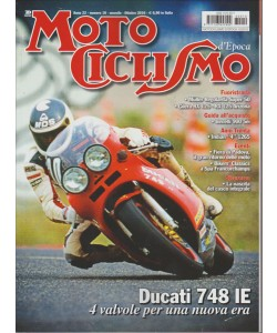 MOTOCICLISMO D'EPOCA. N. 10. MENSILE OTTOBRE 2016.