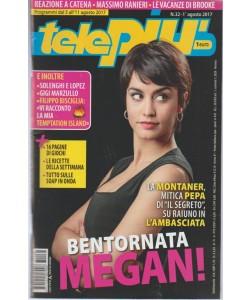 Telepiù - settimanale pocket n. 32 -1 Agosto 2017 - Solenghi e Lopez