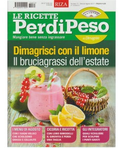 RIZA-Le Ricette Perdipeso-mensile n.71 Agosto2017 Mangiare bene senza ingrassare