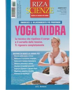 Riza Scienze - mensile n. 351 Agosto 2017 - Yoga Nidra