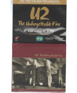 "4° CD-U2:the italian collection ""The Unforgettable Fire"" by Sorrisi & canzoni Tv"