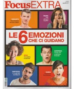 Focus Extra - bimestrale n. 76 Estate 2017 - le 6 emozioni che ci guidano