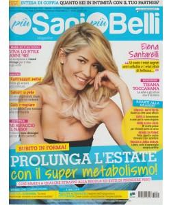 Più Sani Più Belli - mensile n. 81 Settembre 2017 - Elena Santarelli