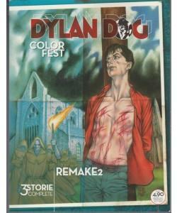 """Dylan Dog Color Fest - trimestrale n. 22 Agosto 2017 """"Remake2"""""""