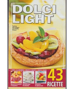 "Dolci Light - supplemento pocket - RISTAMPA ""43 ricette"""