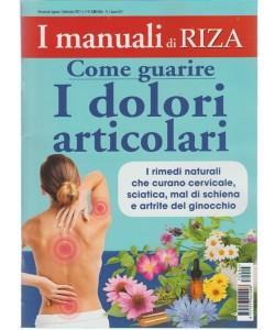I Manuali di Riza - bimestrale n. 4 Agosto 2017 come guarire i dolori articolari