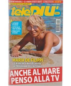 Telepiù - settimanale pocket n. 34 - 15 Agosto 2017 Maria De Filippi