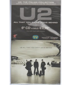 6° CD - U2: The italian collection - All That you can't leave behind