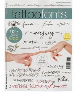 Tattoo Disegni - trimestrale n. 32 Agosto 2017  - Tattoo Fonts