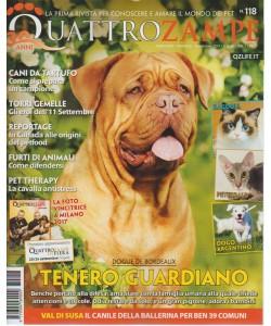 Quattro Zampe - mensile n.118 Settembre 2017- Rogdoll, Peterbald, Dogo argentino